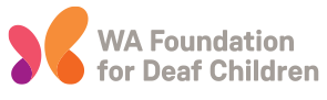 West Australian Foundation for Deaf Children Retina Logo